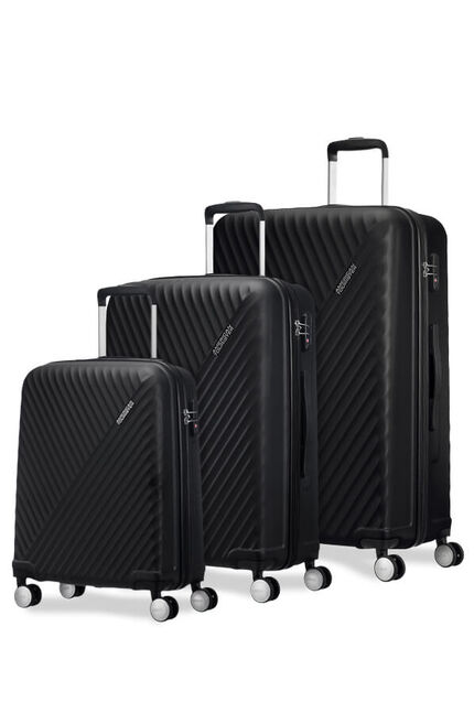 Visby 3 PC SET A  Black