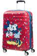 Wavebreaker Disney Kuffert med 4 hjul 67cm Minnie Loves Mickey