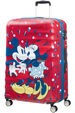 Wavebreaker Disney Kuffert med 4 hjul 77cm Minnie Loves Mickey