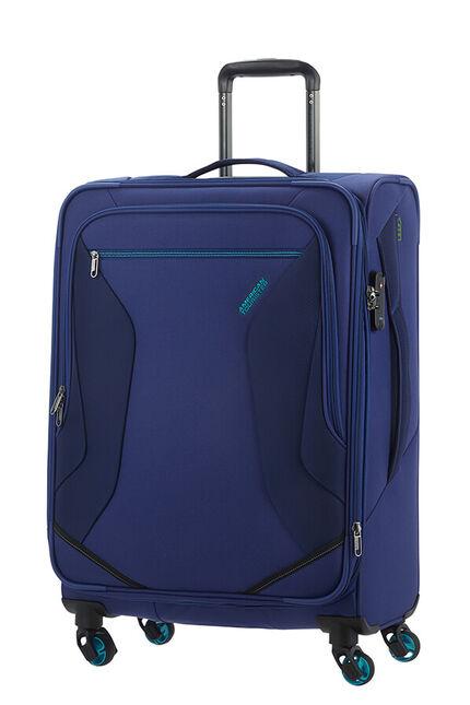 Eco Wanderer Ekspanderbar kuffert med 4 hjul 67cm