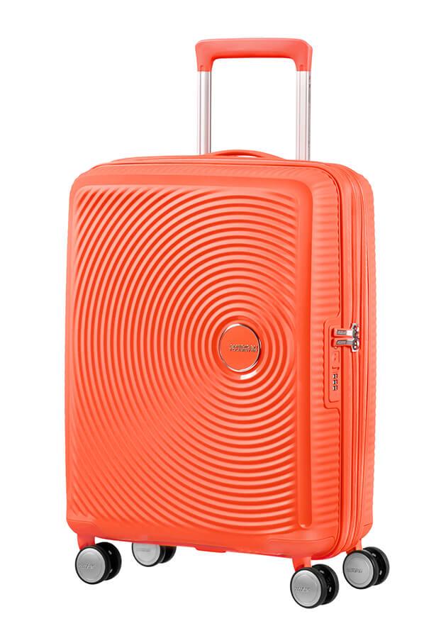 Lækker Soundbox Ekspanderbar kuffert med 4 hjul 55cm   American Tourister GI-66
